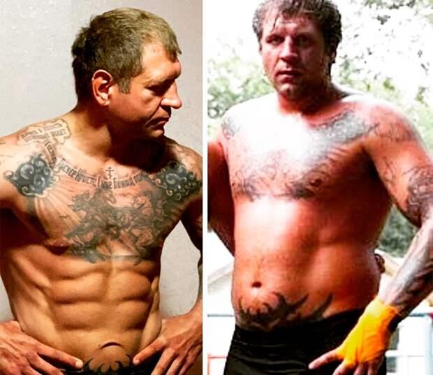 А. Емельяненко: «Мой вес 104,7 кг— столько явесил вшкольные годы. Молодею!»