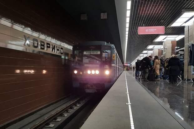 Станция метро «Ховрино» не будет работать 24 и 25 ноября