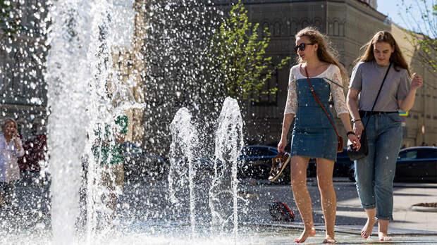Типичное лето начнется в Москве с 10 мая