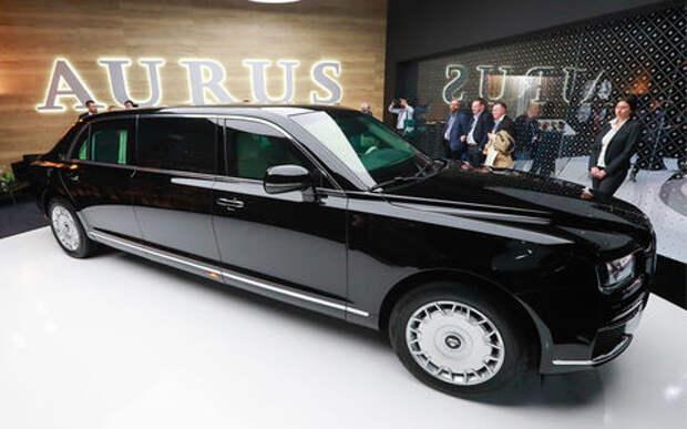 На автомобили Aurus ажиотажный спрос: принято более 500 заявок