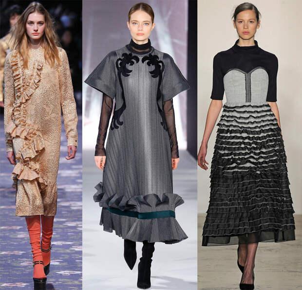 Красивые скромные платья 2016-2017