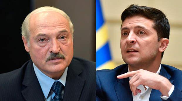 Зеленский и Лукашенко: две большие разницы