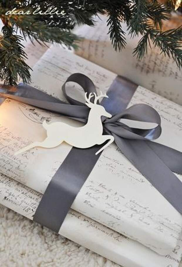 Упаковка подарков на Новый год (трафик)