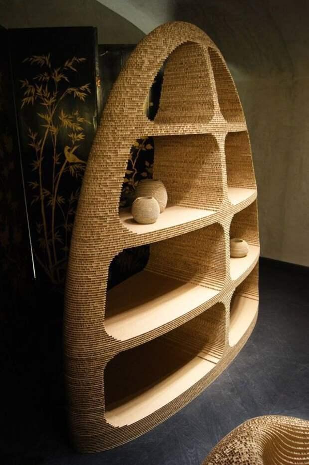 Мебель из картона (подборка)