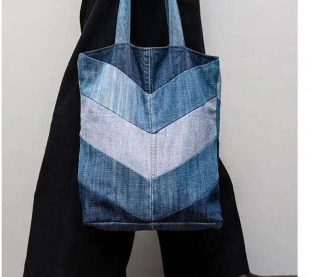 Джинсовые сумки: новые идеи, новый пэчворк
