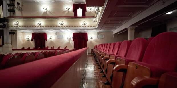 Собянин: Реставрацию Театра эстрады планируется завершить в 2022 году. Фото: М. Денисов mos.ru