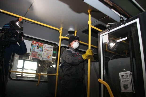 Рейд по соблюдению профилактических мер против COVID в общественном транспорте провели в Братске