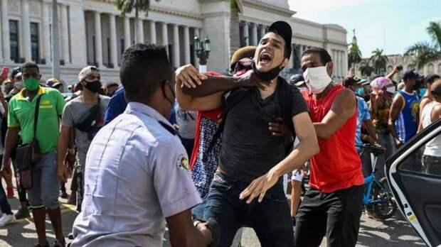 Полиция не церемонилась с протестующими
