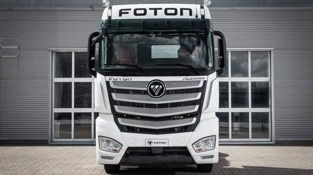 Обзор грузовика Foton 1039 Aumark