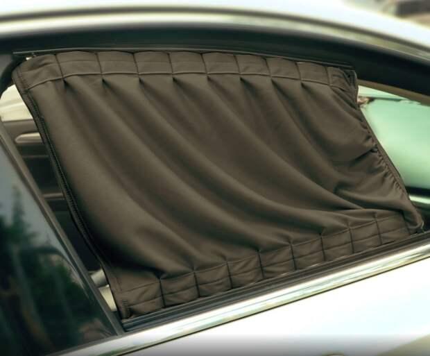 Автомобильные шторки и каркасные сетки теперь могут вызвать лишение прав