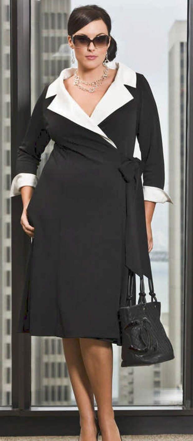 Как одеваться полным женщинам: 10 советов стилиста.