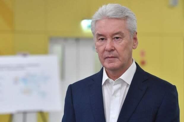 Собянин призвал москвичей активнее вакцинироваться от COVID-19