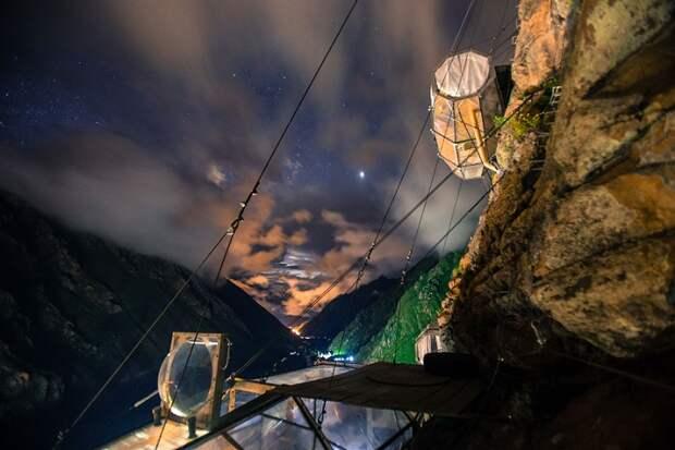 Отель «Убезумного альпиниста», или гостиница для смелых