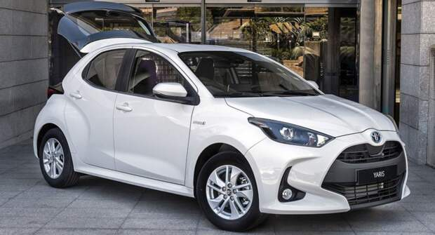 Toyota представил коммерческую модификацию Yaris