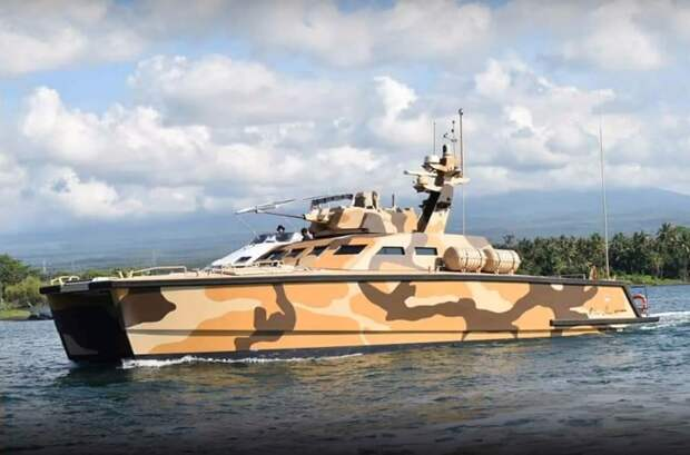 В Индонезии спущен на воду танк-катер Х18 Tank Boat