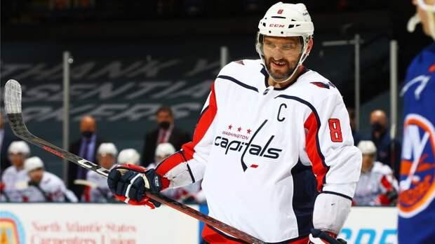 Впервые в истории НХЛ одна команда взяла у другой 16 очков в чемпионате. Рекорд установил «Вашингтон» Овечкина