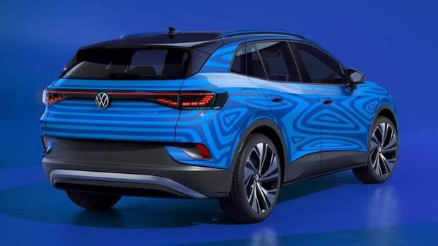 Накануне премьеры: Volkswagen показал оптику кроссовера ID.4