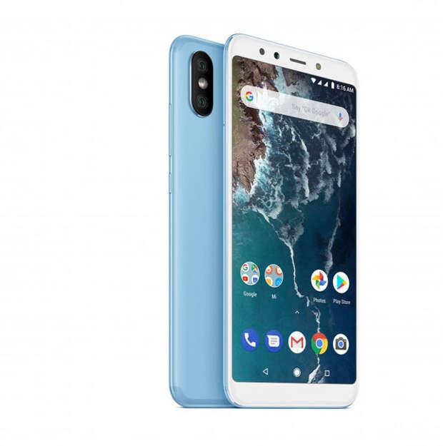 Преемники Xiaomi Mi A2 и Mi A2 Lite получат экранный сканер отпечатков