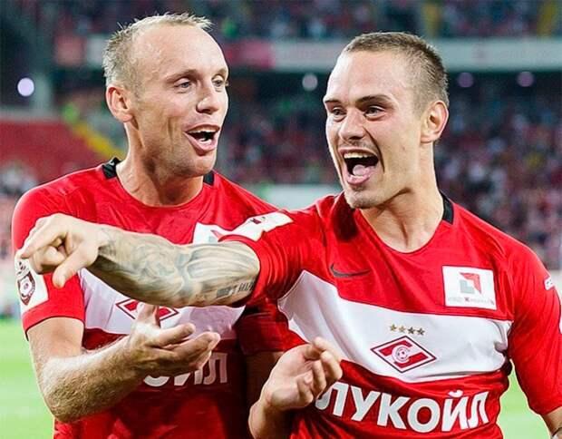 «Брат, нелайкать!» Глушаков обратился кЕщенко после прихода в«Спартак» Тедеско