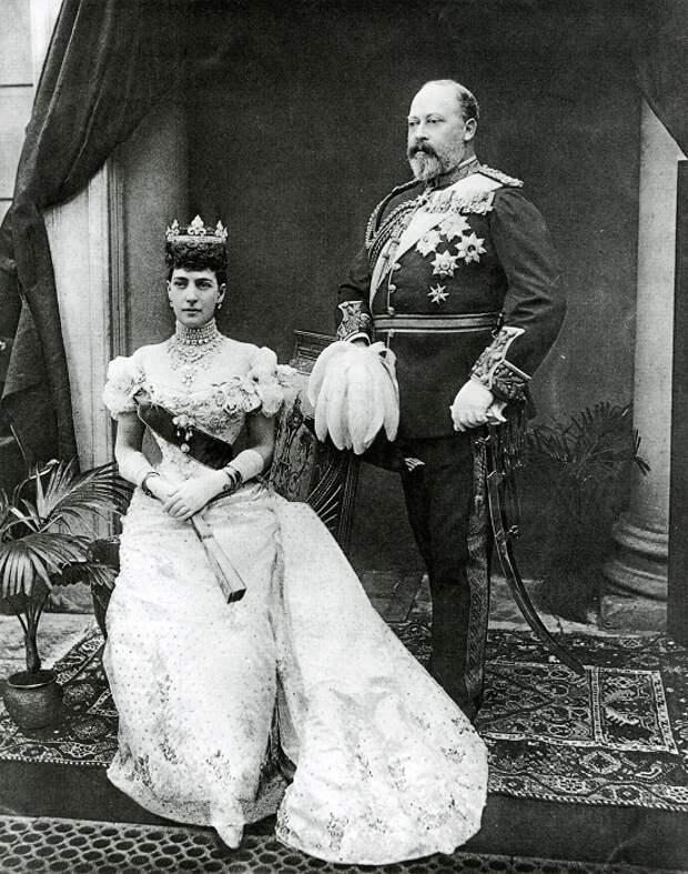 Эдуард VII и королева Великобритании Александра