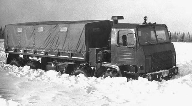 Украинские экспериментальные вездеходы КРАЗ 8Х8