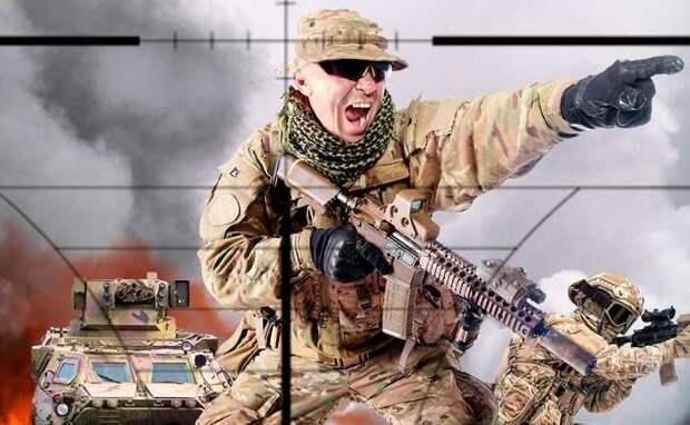 Наступающая украинская армия в Донбассе будет уничтожаться на месте именем российской Конституции