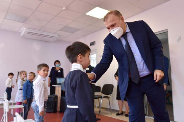 Мурат Кумпилов проинспектировал ход реализации нацпроектов и госпрограмм в Теучежском районе