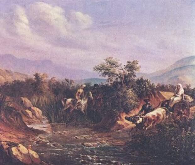 Кавказ в картинах М.Ю. Лермонтова.