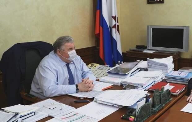Глава Мордовии попросил Путина об увольнении