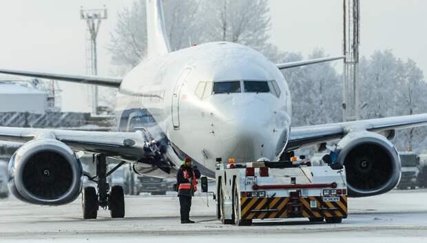 Московские аэропорты работают в штатном режиме, несмотря на ухудшение видимости