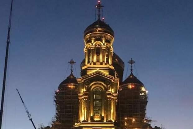 В Главном храме ВС РФ прошёл торжественный молебен в честь годовщины Победы