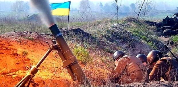 Украинские каратели обстреляли населенный пункт и получили жесткую ответку