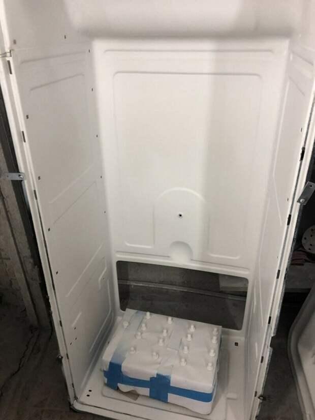 Холодильник ЗИЛ-Москва и второй шанс на новую жизнь история, своими руками, факты, холодильник