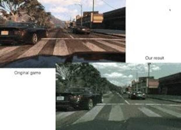 Нейросеть повысила реализм GTA V
