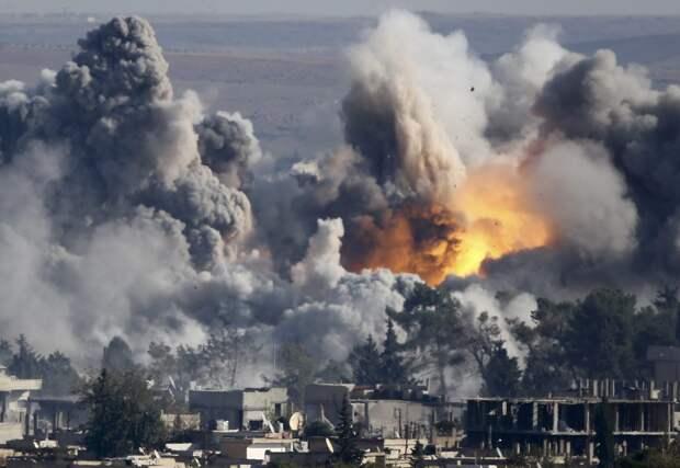Три турецкие базы подверглись мощному ракетному удару на севере Сирии