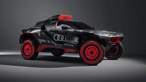 Разработан необычный болид Audi RS Q e-tron для «Дакара»