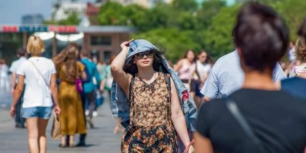 Врач: Жаркая погода провоцирует рост смертности в Москве. Фото: Ю. Иванко mos.ru