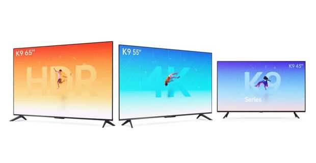 Линейка смарт-телевизоров OPPO Smart TV K9 может предложить экраны от 43 до 65 дюймов, чипы MediaTek и стереодинамики за $275-510