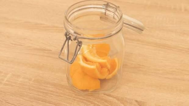 Лайфхак для чистоты и свежести в доме:  не выбрасывайте апельсиновые и лимонные корки