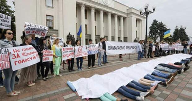 Медицинский геноцид по-украински: корь, дифтерия или сама реформа уничтожит украинцев?
