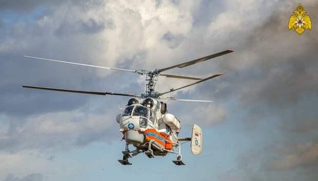 Вертолет санавиации срочно доставил пациента из Бежецка в Тверь