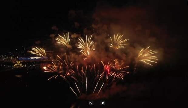 Видео дня: фейерверком над Волгой завершился фестиваль «Столица закатов»