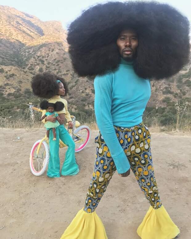 Облако волос: Бенни Харлем— обладатель самой потрясающей прически вИнстаграме