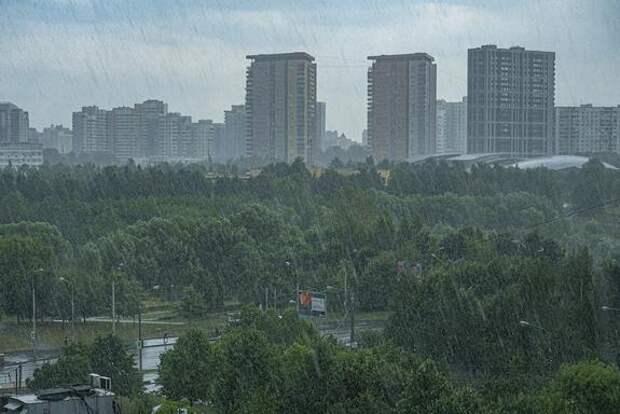 В Гидрометцентре предупредили о дождях в центре России до конца июля