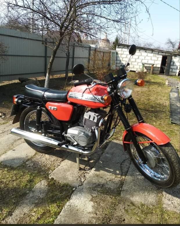Решил приобрести легендарный мотоцикл Jawa, расскажу какой он сейчас. Вспомним прошлое