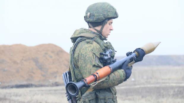 Первые в2021 году учения мотострелков стартовали вРостовской области