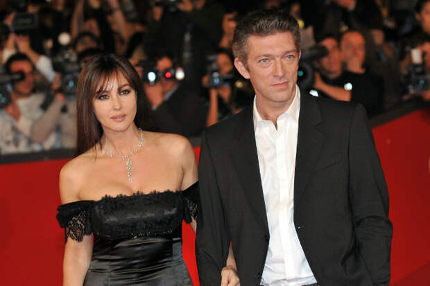 Моника с мужем