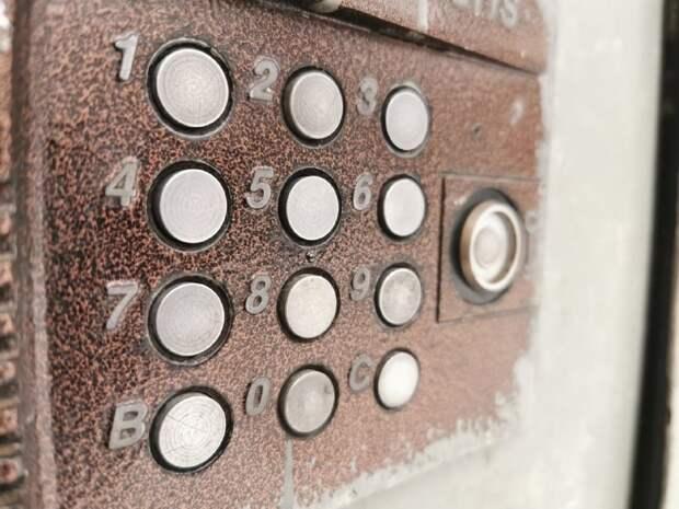 В доме на 1-й улице Бебеля отремонтирован домофон