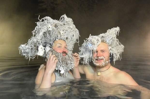 Смешной канадский конкурс, на котором нужно заморозить волосы