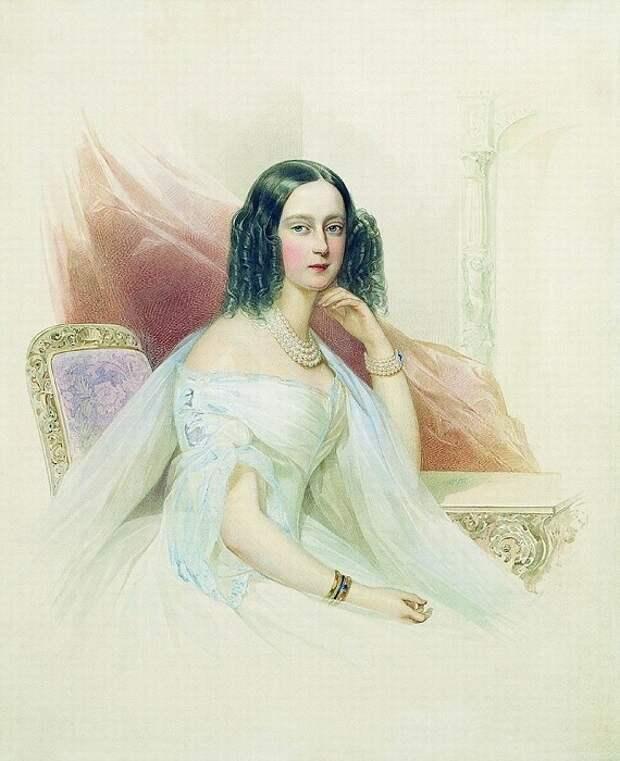 Принцесса Максимилиана Вильгельмина Гессенская